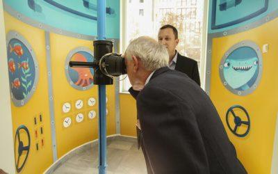 """Център за творческо обучение представи дигитален аквариум и 3D перископ, като част от инициативата """"Малките герои"""""""